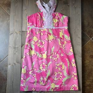 NWT Lilly Pulitzer Hotty Pink Isabelle Dress - 12